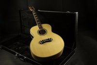 Wholesale guitar for sale - Top Quality CJ200A Jumbo Electric Acoustic Guitar Fishman EQ Mahogany Neck Grover Tuner