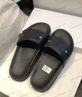 Wholesale grey flip flops for sale - Group buy Top Mens Womens Slippers Sandals Shoes Print Slide Summer Fashion Wide Flat Beach Sandals Slipper Flip Flop