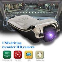usb gizli video kamera toptan satış-Araba DVR Kamera Gizli USB Araç DVR Video ADAS Sürüş Kaydedici ile Android Entegre Makine Dijital Video Kaydedici