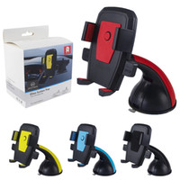 Wholesale iphone car suction resale online - Car Mount Suction Cup Dashboard Windshield Cell Phone Holder For For iPhone X XS Plus Samsung S10 S9 S8