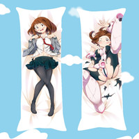 Wholesale anime hugging pillows resale online - 1 Pc Anime My Hero Academia Pillowcase Hugging Pillow Practical Cover For kids Gift Pillow Case