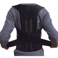 ingrosso uomini di correzione posteriore-Reggiseno postura regolabile per la postura del sostegno postura Correttore per la cintura di sostegno per la spalla posteriore da uomo Donna # 224.900