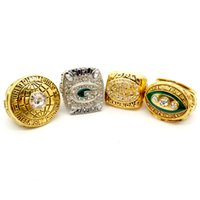 e423dd94d Wholesale championship wedding ring for sale - New Fashion Men s Ring Green  Bay Packers Superbowl