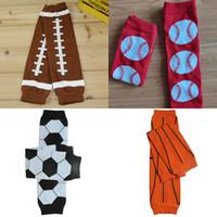 calças joelhinhas venda por atacado-Baseball meias bebê Futebol Basquete Futebol pé quente Leggings meias infantil Legging Tights joelheiras Crianças Leg Stocking M478