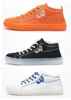 Wholesale crystal shoes for sale - 2019 new men women Jelly Shoes Mid help crystal bottom light and fashion plate shoes best streetwear Trainers Designer Sports Running shoes