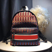 Wholesale strung feathers for sale - Group buy 2019 luxurys famous shopping canvas designer Handbags laptops backpacks backpack main bags purse womens mens dropship