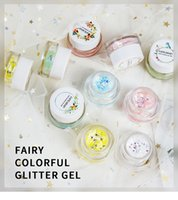 brilho de olho solto venda por atacado-DROP Glitters para Art Body Art Glitter Tatuagens Em Pó Gel Olho de Cabelo Glitter Flash Coração Solto Lantejoulas Nude Rosto Creme Festival Glitter 200 pcs