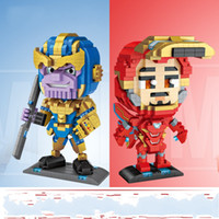Wholesale loz blocks bricks for sale - Group buy LOZ New Products Building Block Granule The Avenger Iron Man Juggle Popular Playing Excellent Products Toy Bricks Children Toys lo N1