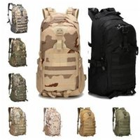 Wholesale tactical art resale online - Camouflage Tactical Backpack Colors Male Military Camo Multifunctionl Army Bag Waterproof Oxford Travel Sports Bags OOA6164