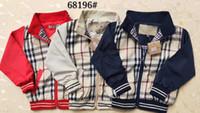 куртки для мальчиков оптовых-2019 новые стили марка детская одежда мальчик девочка плед куртка детская одежда дети повседневная пальто футболка пальто девушки хлопок балахон пиджаки