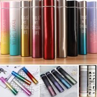 Wholesale tea pottery for sale - Group buy New Stainless Steel Tumbler Mug Insulated Vacuum Car Home Coffee Mugs Beer Tea Cup For Travel Outdoor Color Changing Cups ML DHL WX9