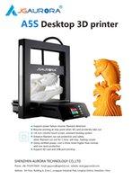 intervalos de luz venda por atacado-Impressora JGAURORA 3D A5s corpo industrial liso luz alimentação detecção de ruptura de falha de energia velocidade rápida de bocal individual