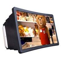 entfernte mobile kamera groihandel-Telefon 3D-Bildschirmlupe Smartphone Lupe, Vergrößerungsverstärker Mobile Halterung Halter BT Kamera Fernauslöser Für Smartphone