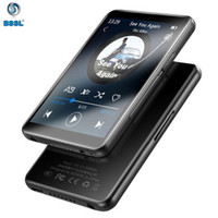 8gb mp3 mp4 player video al por mayor-aleación de aluminio de la pantalla táctil completa Bluetooth MP4 8GB 16GB delgado reproductor de música con radio FM Video Flash E-libro Walkman MP3 con altavoz