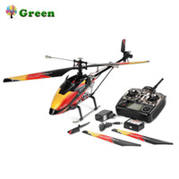 ingrosso lame rc-Wltoys V913 Brushless 2.4G 4CH a lama singola incorporato Gyro Super Stable Flight Elicottero ad alta efficienza con motore RC