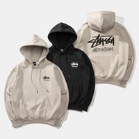 майки для мужчин оптовых-19ss новых мужчины дизайнер hoodiestussys бренда пар толстовка дикая блудница свитер мода классической уличная хип-хоп пуловеры продажа рубашка
