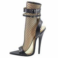ultra stiletto fersen sandalen großhandel-Wonderheel echtes Leder ultra High Heel 16cm Stiletto Sexy High Heel Schnallen Riemen ultra spitze Zehe Sandalen für Damen