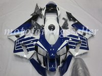 Wholesale abs motorcycle fairings resale online - 4 Gifts Injection Mold New ABS Motorcycle Full Fairings Kits Fit For HONDA CBR600RR F5 RR F5 bodywork set Blue white Black