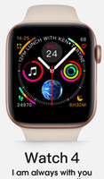 iwatch reloj inteligente al por mayor-2019 iphone iwatch IWO 9 Smart watch 44mm Series 4 1to1 Bluetooth Smartwatch Monitor de ritmo cardíaco Reloj deportivo para iPhone Samsung