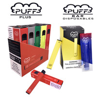 Wholesale popular pens for sale - Group buy Top rated popular in US Puff Bar puff plus Pod Kit ml ml Cartridge Device Vape Pen with new packaging