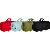 мужская сумка черного цвета оптовых-TS 19SS Duffle Bag Плечевой ремень Роскошные мужские дизайнерские женские пары Черный Красный Путешествия Фитнес Плечо Tote Камера TSYSBB169
