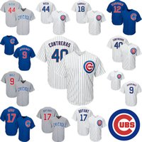 Wholesale kyle schwarber jerseys for sale - Group buy 9 Javier Baez Kyle Schwarber Kris Bryant Ben Zobrist Willson Contreras Anthony Rizzo Cool Stitched Mens Jersey