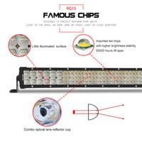Wholesale curve led light bars for trucks resale online - Curved LED Light Bar fit for Jeep Truck ATV US