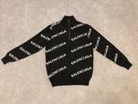 cartas para vestuário venda por atacado-2019 mens designer Sweaters carta de luxo França paris letras imprimir roupas de manga longa camisas das mulheres Dos Homens Das Mulheres etiqueta real tag Novo