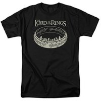 Wholesale new men s ring for sale - Group buy The Lord Of The Rings The Journey Licensed Adult T Shirt Cotton Brand New T Shirts Summer Fashion