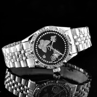 ingrosso bracciale watche-2019 diamond watche relogio masculino mens orologi Luxury fashion designer di moda quadrante nero calendario Bracciale oro chiusura chiusura Master Maschio