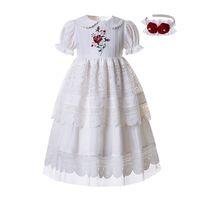 Wholesale Plus Size White Under Knees Dress Group Buy