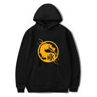 kombat spiele großhandel-Neue Mode Mortal Kombat 11 Hoodie Classic Game Männer / Frauen Kpop Kleidung Harajuku Mortal Kombat 11 mit Kapuze Streetwear Hiphop Tops