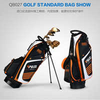 стенд гольф-клуб оптовых-PGM Golf Stand Bag Golf Clubs Bag14-ways Padded Divider Top,Shoulder Strap,Ultra Light WeightCLUBS ARE NOT INCLUDED