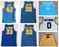 Wholesale online clothing shops resale online - Los Angeles College Basketball wear online shopping stores for sale SCALABRINE WALTON WESTBROOK Basketball jerseys clothing jerseys