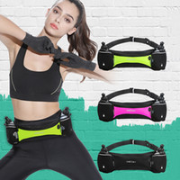 Wholesale bottle for cycling resale online - E849 Marathon Jogging Cycling Running Hydration Belt Waist Bag Pouch Fanny Pack Phone Holder For ml Water Bottle