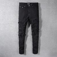 leichte sommerjeans für männer großhandel-Neue 2019 Herren Jeans Sommer Leichte Designer Jeans Herren Large Size Lässige Luxus Denim Hosen Klassische Straight Denim Designer Jeans