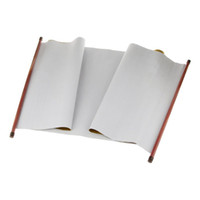 ткань китайская оптовых-Magic Water Fabric for Writing Chinese Calligraphy Ink Water Painting - Z, White