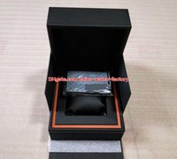 Wholesale watch box leather luxury for sale - Group buy Luxury High Quality TAG Watch Original Box Papers Card Handbag Leather Boxes For Calibre RS RS2 RS Aquaracer Chronograph Watches