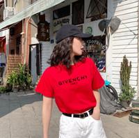 2a7c227772 2019 Luxury Brand designer T-Shirts Dolce Donna T Shirt O-Collo Manica  corta Estate Top Tee Trend stile Yves Stampa Vogue abbigliamento dg