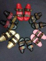 ingrosso scarpe per donne primavera estate-con scatola Spedizione gratuita! 2018 sandali estivi primavera donna fashion designer scarpe uomo vera pelle con scatola