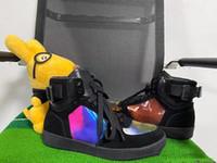 tubo de pie caliente al por mayor-Marca corta de las señoras Fashion Boots resistente al agua caliente Denim 5D color mágico Tela Hombres Mujeres Calzado antideslizante a prueba de viento al aire libre de algodón Botas