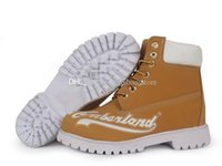 Wholesale best sport shoes boot mens for sale - Group buy Hot style TBLboot A classic Mens wheat waterproof outdoor casual Sports best qualtity Shoe walking Boots big tree log s