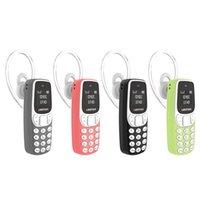 desbloquear celular qwerty venda por atacado-L8star bm10 atualização bm90 mini telefone bluetooth discador fones de ouvido sim + tf cartão desbloqueado celular com mudança de voz telefones celulares para crianças