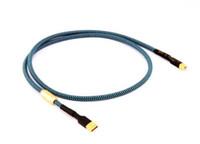 usb ses kartı kablosu toptan satış-Tek kristal bakır USB kablosu dekoder ses kartı kablo DAC veri USB ses