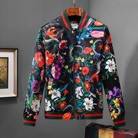 ingrosso cappotto di primavera in cardigan con cerniera-New Luxury GUCCI Marchio giacca in primavera e autunno periodo maschio Designer Tiger Hat Coat cardigan casual High-end