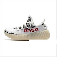 sapatas de bebê de creme venda por atacado-Kids Shoes 35o Beluga Running Shoes Shoes Kanye West zebra Cinza Laranja creme branco Black Boys meninas do bebê caçoa as sapatilhas 28-35 000