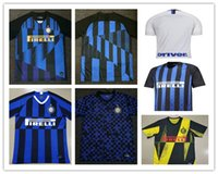 c9e908833 20 anniversary Inter jersey CANDREVA EDER ICARDI JOVETIC Milan home away  Kondogbia Jovetic 2019 20 sports 18 19 inter shirts Soccer Jersey