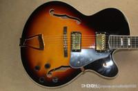 New Arrival Custom Jazz Guitar Semi Hollow Electric Guitar In Stock