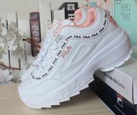 sapatos esportivos para senhoras venda por atacado-Running Shoes HBDM das mulheresShoe FILA Lady Sports Esporte Homens Sneakers Toning respirável Air green shoe Scarpe Calçados