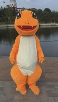 trajes carnaval tema festa venda por atacado-2019 venda direta da Fábrica Charmander Firedragon Mascot Costume Fancy Party Dress Tema Mascotte Carnaval Traje Halloween Party Suit